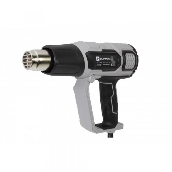 Pistol cu aer cald INDUSTRIAL ELPROM EFP-2500-3EC, 2500W, 600°C 0