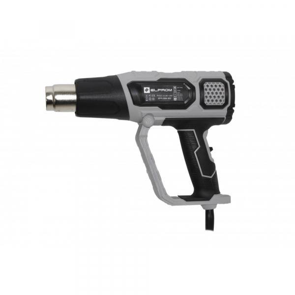 Pistol cu aer cald INDUSTRIAL ELPROM EFP-2500-3EC, 2500W, 600°C 1