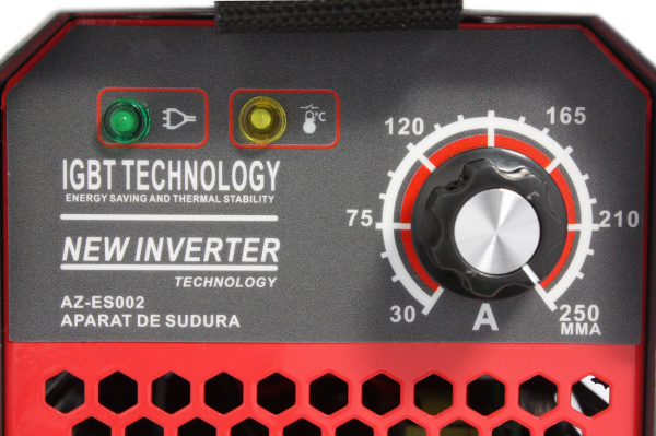 Aparat de Sudura, Invertor Almaz 250A AZ-ES002, Electrod 1.6-4mm, accesorii incluse 7