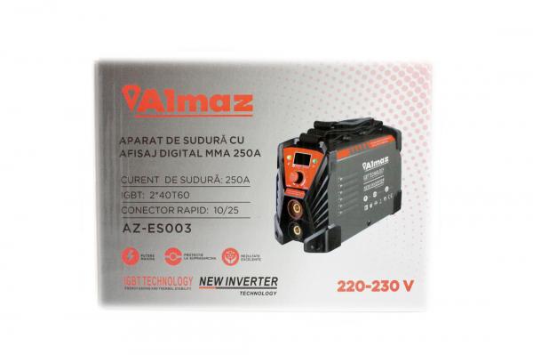 Aparat de sudura Invertor AlmazProfi 250A AZ-ES003, Clesti de sudura + masca de mana [10]