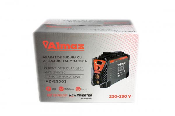 Aparat de sudura Invertor AlmazProfi 250A AZ-ES003, Clesti de sudura + masca de mana [12]