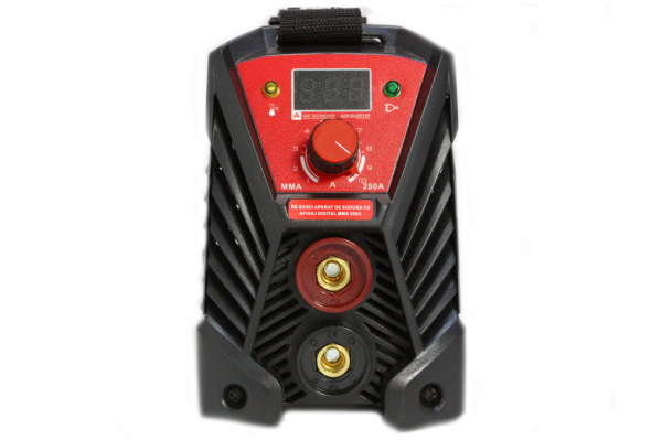 Aparat de sudura Invertor AlmazProfi 250A AZ-ES003, Clesti de sudura + masca de mana [13]