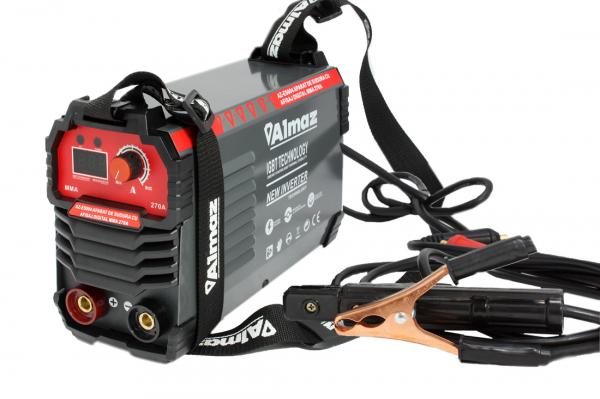 Aparat de sudura cu afisaj digital MMA 270A Almaz, toate accesoriile sunt incluse 1