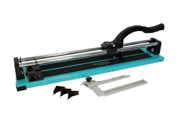 Aparat debitare gresie si faianta - 600mm, grosime 16mm, posibilitate taiere in unghi 45ᵒ DETOOLZ 7