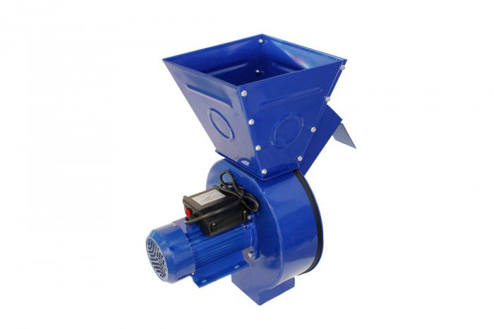 Moara electrica ruseasca albastra 3.5kW, 100% cupru, 400 de kg pe ora. 4