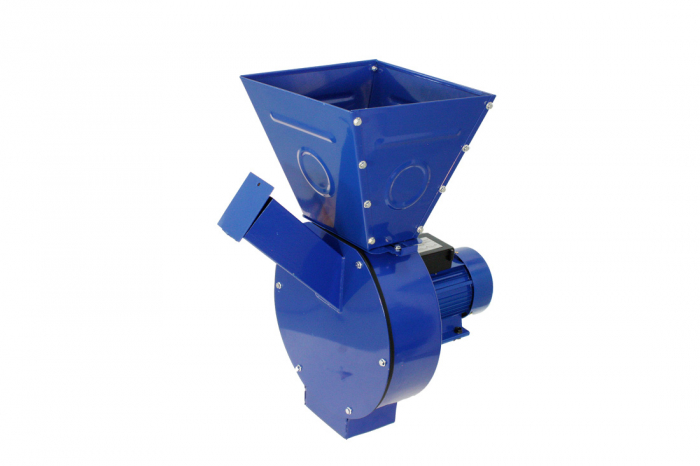 Moara electrica ruseasca albastra 3.5kW, 100% cupru, 400 de kg pe ora. 0