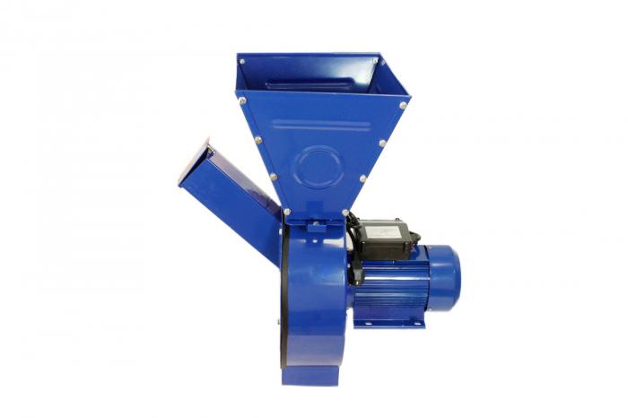 Moara electrica ruseasca albastra 3.5kW, 100% cupru, 400 de kg pe ora. 5