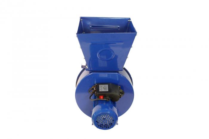 Moara electrica ruseasca albastra 3.5kW, 100% cupru, 400 de kg pe ora. 6