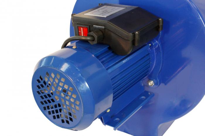 Moara electrica ruseasca albastra 3.5kW, 100% cupru, 400 de kg pe ora. 8