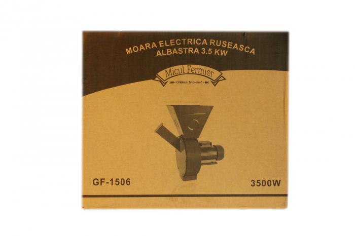 Moara electrica ruseasca albastra 3.5kW, 100% cupru, 400 de kg pe ora. 15