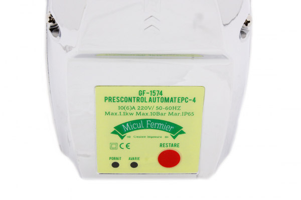 Presostat electronic prescontrol automat, 1tol, 1.1kW, IP65 11
