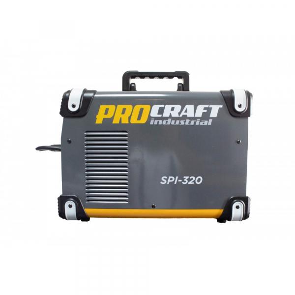 Invertor industrial MMA + MIG Procraft SPI 320 + Set cabluri si furtun MIG, 320 A 3