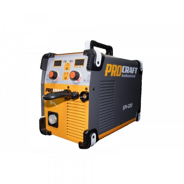 Invertor industrial MMA + MIG Procraft SPI 320 + Set cabluri si furtun MIG, 320 A 6