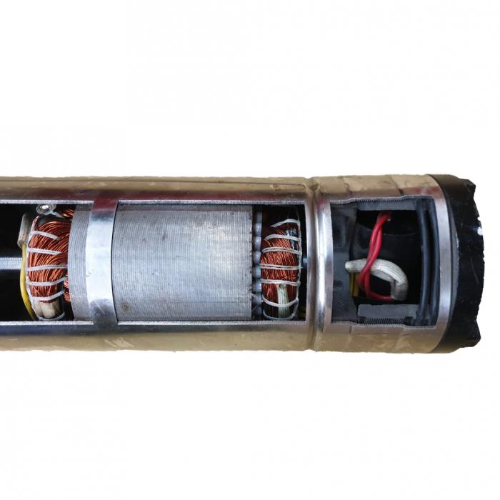 Pompa submersibila, DDT, QGD120 , 1.1 kW, Inox, 3 m³/h, 120 m 2