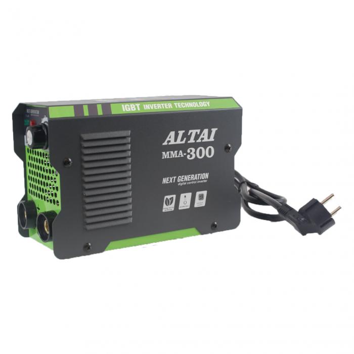 Invertor (aparat) pentru sudura MMA 300 A, ALTAI, cu valiza 5