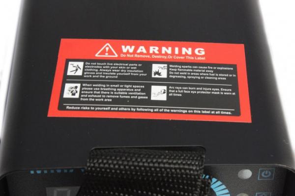Aparat de sudura MMA-140 DETOOLZ, putere absorbita 6,1kVA, eficienta 80%, diametru electrod 1,6-3,2mm 7