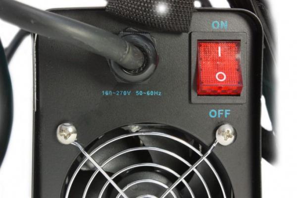Aparat de sudura MMA-140 DETOOLZ, putere absorbita 6,1kVA, eficienta 80%, diametru electrod 1,6-3,2mm 5