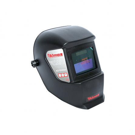PACHET - Aparat de Sudura, Invertor Almaz 250A AZ-ES002, Electrod 1.6-4mm, accesorii incluse + Masca de sudura automata cu cristale lichide BY350F-ALOE 2