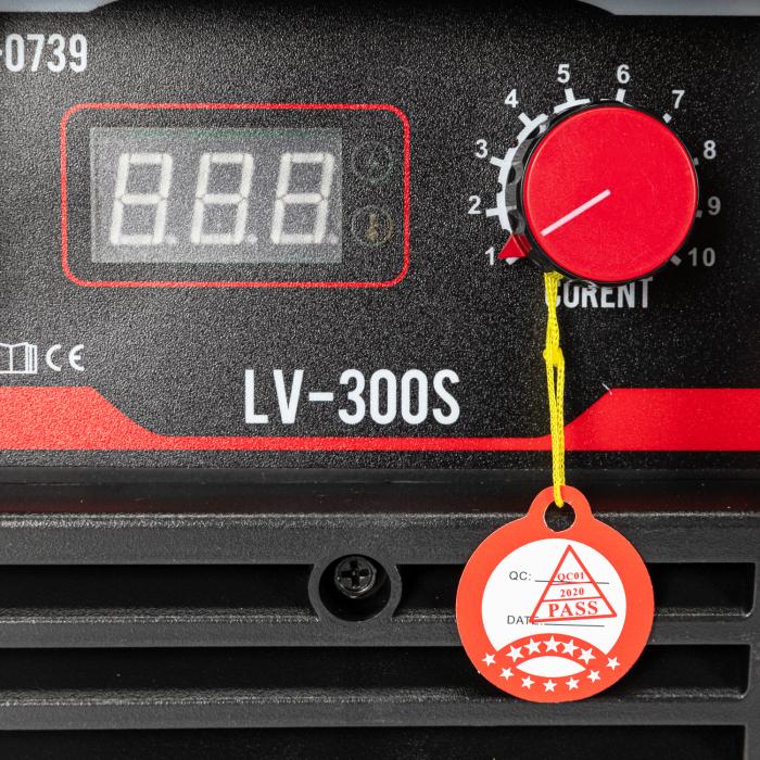 Aparat de sudura Micul Fermier LV 300S, sudeaza cu electrozi inox, supertit, fonta, bazic 6