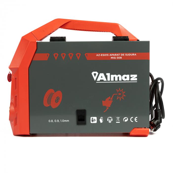 Aparat de sudura MIG-308 ALMAX, electrozi rutilici, electrozi bazici, electrozi inox 4