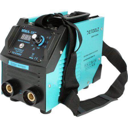 Aparat de sudura MMA-160 DETOOLZ, putere absorbita 8,1 kVA, eficenta 80%, diametru electrod 1,6-5mm 11