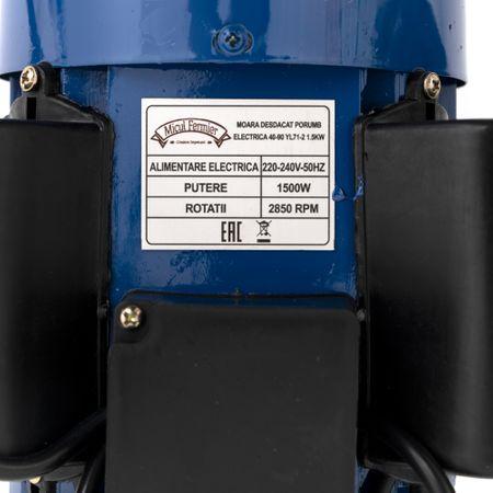 Batoza de curatat porumbul 240 kg/h motor 1500W, 3000Rpm 6