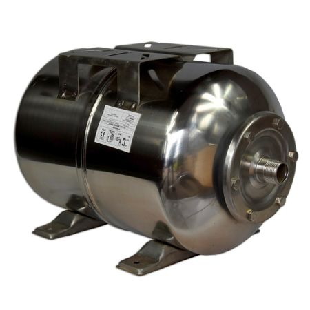 Bazin de expansiune 50 litri, orizontal, otel inoxidabil [4]