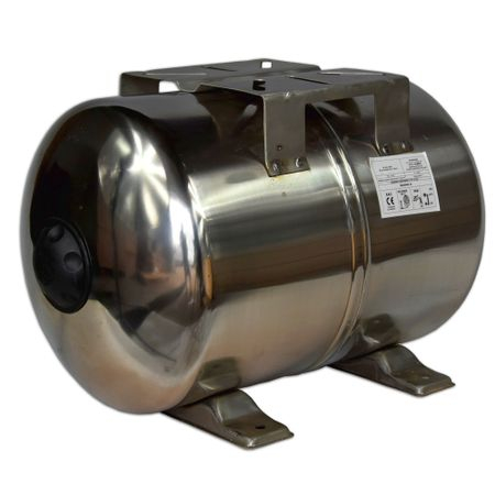 Bazin de expansiune 50 litri, orizontal, otel inoxidabil [2]