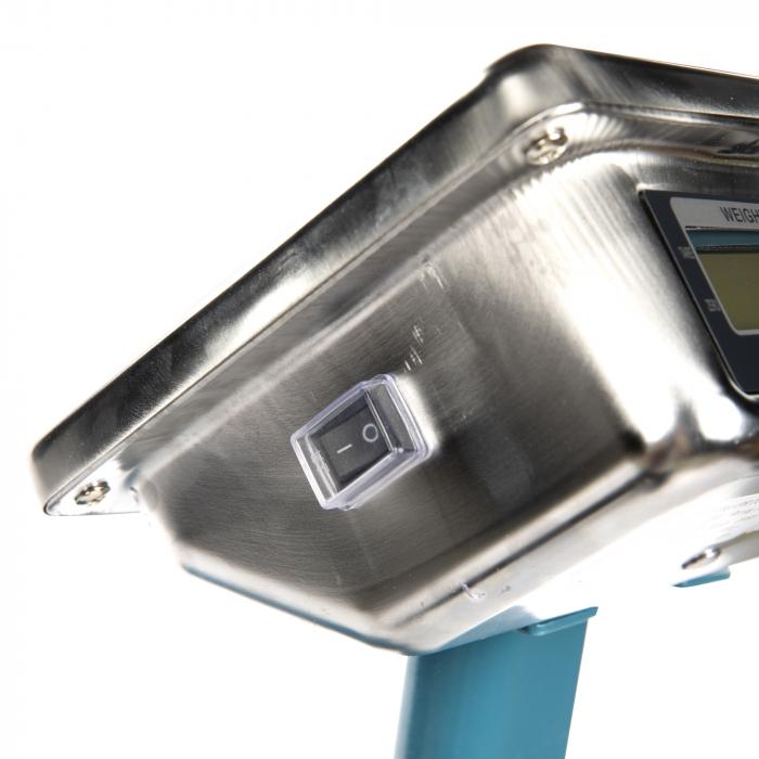 Cantar Platforma de 300Kg, Brat rabatabil, tabla striata, platforma 40x50cm, [5]