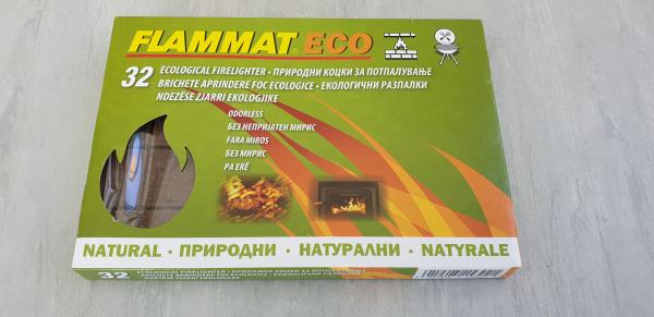 Cuburi de aprins focul BRICHETE (Kerosen) 32 buc. Flammat 0