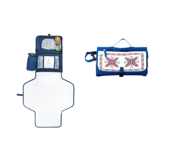 Geanta pentru infasat bebelusi, geanta organizator ideala pentru carucior-pentru schimbat scutece si infasat, cu buzunare incapatoare 4