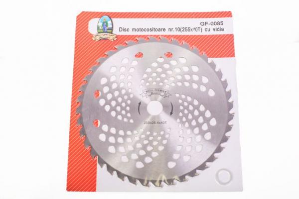 Disc pentru motocositoare nr. 10 (255) cu vidia Micul Fermier 0