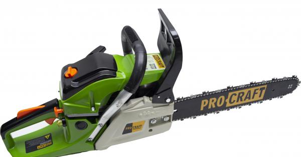 Drujba Procraft GS-52T, 3.8 CP, 3000 RPM, 52CC, lama de 40 cm 0