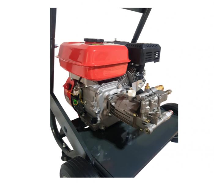 Aparat de spalat cu presiune pe benzina Elefant PPW 190A, 6.5 CP, 165 bari, 3600 rpm, Accesorii 6