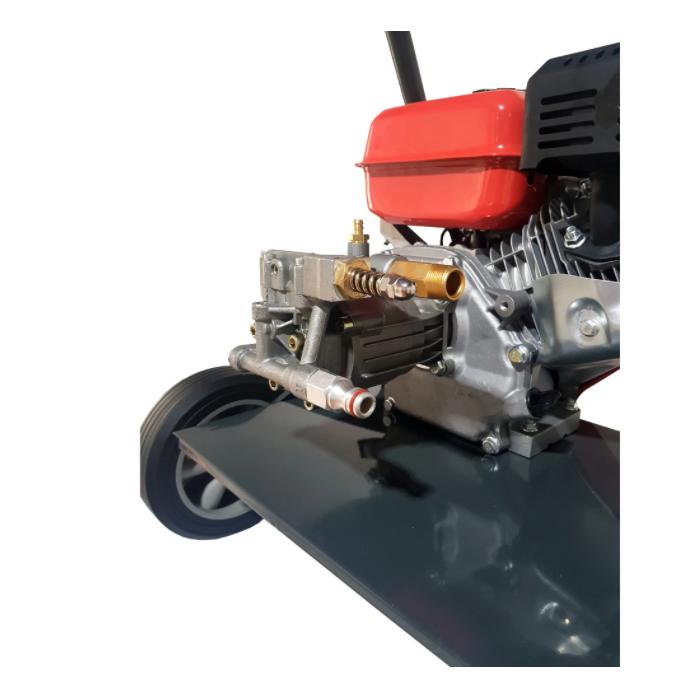 Aparat de spalat cu presiune pe benzina Elefant PPW 190A, 6.5 CP, 165 bari, 3600 rpm, Accesorii 7