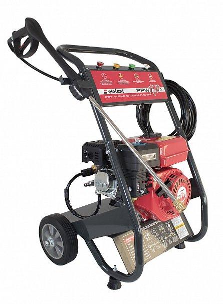 Aparat de spalat cu presiune pe benzina Elefant PPW 190A, 6.5 CP, 165 bari, 3600 rpm, Accesorii 8