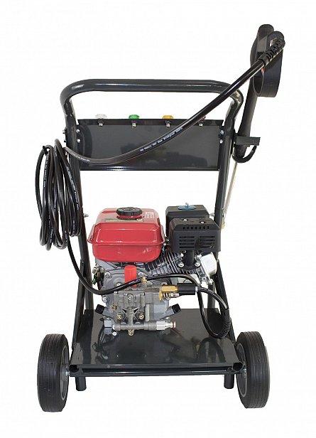 Aparat de spalat cu presiune pe benzina Elefant PPW 190A, 6.5 CP, 165 bari, 3600 rpm, Accesorii 9