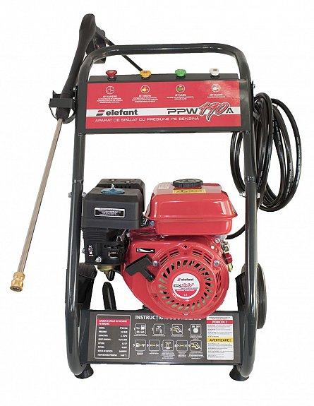 Aparat de spalat cu presiune pe benzina Elefant PPW 190A, 6.5 CP, 165 bari, 3600 rpm, Accesorii 1