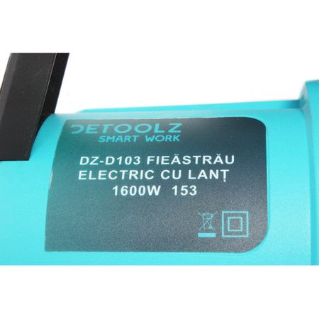 Fierastrau electric Detoolz, 1600 W, lama 395 mm [13]