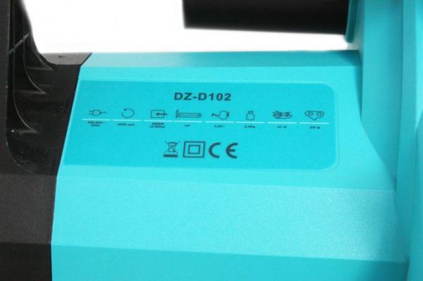 Fierastrau electric (Drujba) cu lant Detoolz DZ-D102, 2000W, lama 395mm [6]