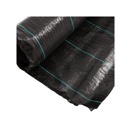 Folie pentru mulcire, antiburieni, filtru UV, 100gr/mp, Latime 1.5 m, Lungime 100 m 1