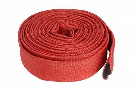 Furtun apa tip pompier 2 toli, 20m, 16 bar, fara cuple ROSU 0