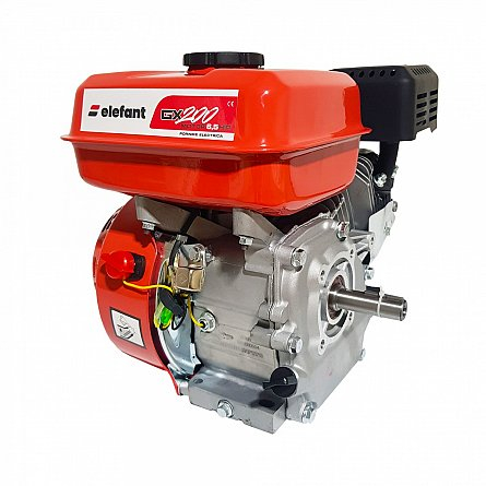 Motor motosapa - motocultor, 6.5CP , Elefant Profi GX200 , motor 4 timpi , ax cilindric 20mm , pe benzina , universal 0