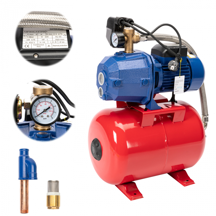 Hidrofor pentru apa cu pompa Micul Ferier Auto-Jet DP 550, 24 litri, 750 W [0]