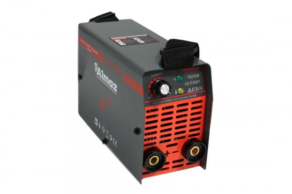 PACHET - Invertor de sudura Almaz AZ-ES001 250A Electrod 1.6-4mm, accesorii incluse + Masca de sudura automata cu cristale 5