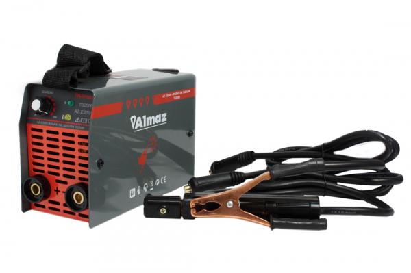 PACHET - Invertor de sudura Almaz AZ-ES001 250A Electrod 1.6-4mm, accesorii incluse + Masca de sudura automata cu cristale 2