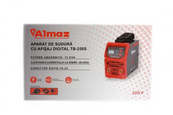 PACHET - Aparat de sudura cu afisaj digital TB-250S + Masca de sudura automata reglabila 16