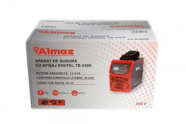 PACHET - Aparat de sudura cu afisaj digital TB-250S + Masca de sudura automata reglabila 7