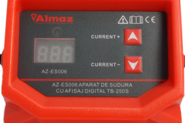 PACHET - Aparat de sudura cu afisaj digital TB-250S + Masca de sudura automata reglabila 10