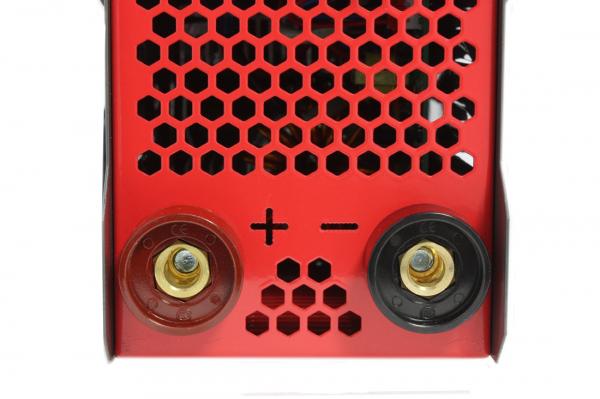 PACHET - Aparat de Sudura, Invertor Almaz 250A AZ-ES002, Electrod 1.6-4mm, accesorii incluse + Masca de sudura automata cu cristale lichide BY350F-ALOE 17